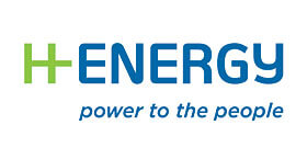H Energy - Power to the People Logo